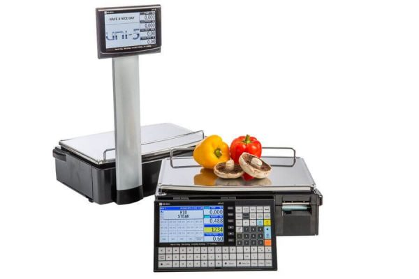 Ishida- Uni-5 Pole & Bench- Label Printing Scale